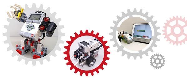 栄光ロボットアカデミーで使われているレゴ社製教材