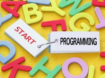 プログラミングスタートのイメージ図